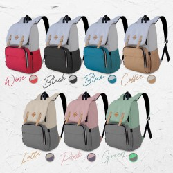 Baby box for mam Kiwi CoolBag (With USB Port) Mother-Baby Care Backpack