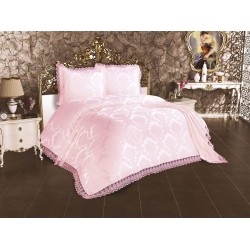 Duvet Cover French Lace Lalezar Bed Cover Powder