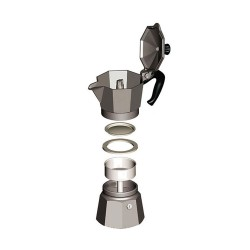 Bialetti Moka Pot Express 4 Cups