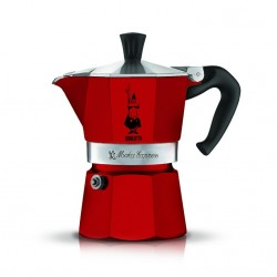 Bialetti Moka Pot Express 3 Cups Red
