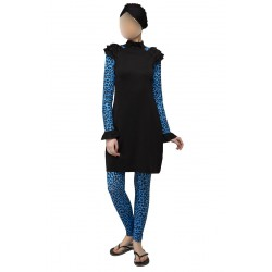 Mayo Burkini Aslıhan Fully Covered Swimsuit