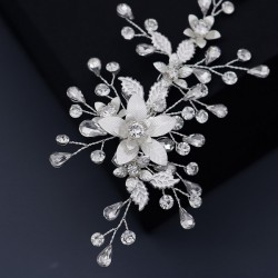 Wedding Accessories Beautiful Rhinestone  Alloy  Copper Hairpins