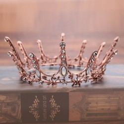 Wedding Accessories Beautiful Rhinestone / Crowns With Rhinestone
