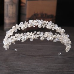 Wedding Accessories Beautiful Rhinestone / Alloy Headbands With Rhinestone