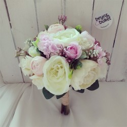 Wedding Bouquet Bella Peony Bridal Flower (Bouquet)